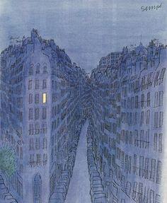 """Jean-Jacques Sempé - extrait de """"Ames soeurs"""", 1991"""