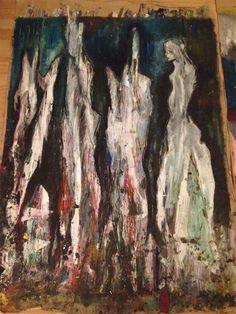 Nachtsicht II JOACHIM PLANER II Malerei II Zeichnung II Collage II Ausstellungseröffnung 4. März 2015 II 19.30 Uhr II @ ZWEITBESTER II