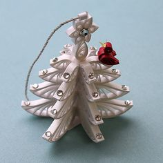 Christmas-Tree Ornament A Wonderful Quilled / by AGiftwithinaGift