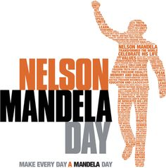 Today is #MandelaDay! Help us spread Nelson Mandela's inspiring message of service.