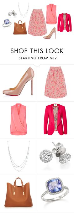"""Sin título #184"" by alejaborrayo on Polyvore featuring moda, Christian Louboutin, Oasis, River Island, Etro, Ivanka Trump, Astley Clarke, Sophie Hulme y Bloomingdale's"