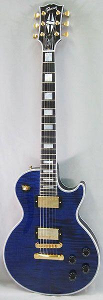 Gibson CUSTOM SHOP Limited  Les Paul Custom Figured Top/Trans Blue