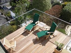 Stainless Steel System is the finest glass balustrade dorset provider in UK, they are offering handrails, stairs, stands and benches at a very reasonable price. Frameless Glass Balustrade, Garden Entrance, Garden Makeover, Condo, Outdoor Furniture Sets, Outdoor Decor, Terrace Garden, Birmingham, Sun Lounger