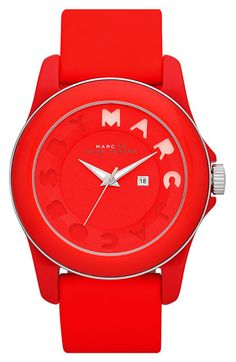 MARC BY MARC JACOBS 'Icon Stripe' Watch available at Nordstrom