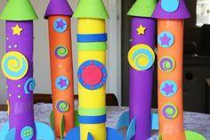 Preschool Craft Program: Making Rockets! #Kids #Events