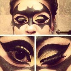 Halloween Batman Makeup
