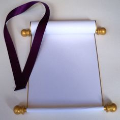 Blank scroll  with presentation box long by ArtfulBeginnings, $27.00...For alternative to guest book