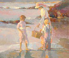 Mary Cassatt -one of the greatest American painters. Mary Cassatt er for amerikanerne head Anne Anker er for os