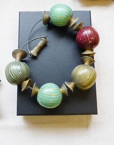 christine damm polymer clay | One of Christine Dumont's 'ossocopia' pieces