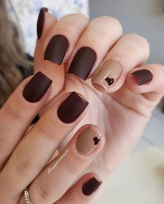 Semi-permanent varnish, false nails, patches: which manicure to choose? - My Nails Gelish Nails, Manicure And Pedicure, My Nails, Nail Swag, Trendy Nails, Cute Nails, Uñas Fashion, Modern Nails, Dream Nails