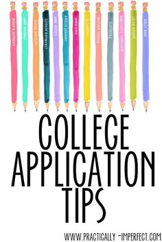 What is the perfect college applicant look like?
