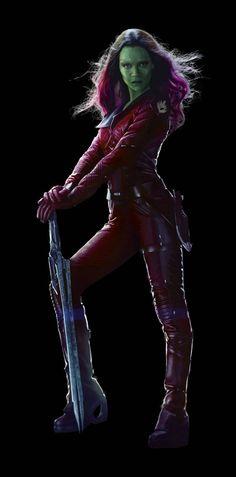 Guardians Of The Galaxy Gamora   Heróis de Guardiões da Galáxia ganham imagens em alta resolução ...