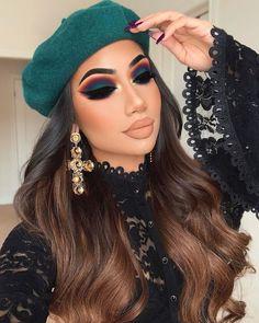 Adriana Lima's Special Makeup Secrets – Makeup Tutorial Nude Makeup, Fall Makeup, Skin Makeup, Eyeshadow Makeup, Eye Makeup Art, Arabic Makeup, Indian Makeup, Eyeshadows, Halloween Makeup