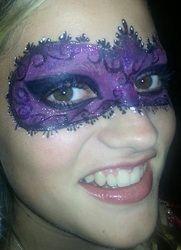 Purple -- Face Painting Paradise in SLC Utah