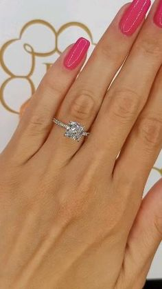 Radiant Engagement Rings, Engagement Ring On Hand, Luxury Engagement Rings, Engagement Ring Shapes, Princess Cut Engagement Rings, Beautiful Engagement Rings, Wedding Engagement, Wedding Rings, Dream Ring