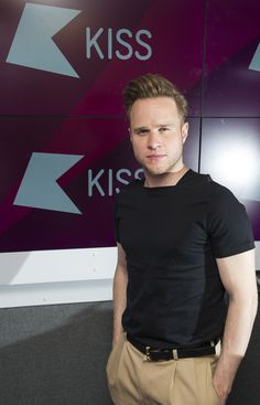 Olly Murs Photos Photos - (EXCLUSIVE COVERAGE) Olly Murs poses for pictures during a visit to Kiss FM on July 6, 2016 in London, England. - Olly Murs Visits Kiss FM
