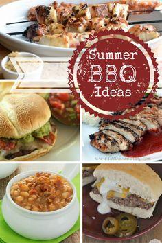 Summer BBQ Ideas - see 12 summer BBQ ideas!