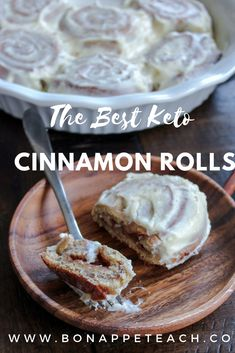 On keto, you can have your cinnamon rolls and eat them too! This is the best keto cinnamon roll recipe, nut free, and not made from fathead dough! Each roll is only 4 net carbs! Quick Keto Breakfast, Breakfast Recipes, Dessert Recipes, Breakfast Gravy, Breakfast Pancakes, Diabetic Breakfast, Breakfast Cereal, Dessert Ideas, Breakfast Ideas