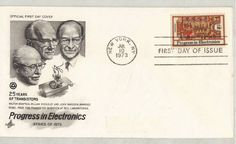 FDC 1501 Progress in Electronics Artcraft Cachet Film Up, Cinderella And Prince Charming, Electronic Engineering, First Day Covers, Art Series, Us Presidents, Disney Art, Arts And Crafts
