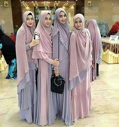 Hijab Gown, Kebaya Hijab, Hijab Outfit, Muslim Hijab, Muslim Dress, Abaya Fashion, Muslim Fashion, Fashion Wear, Fashion Dresses