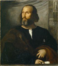 Portrait of a Bearded Man - Titian
