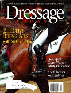 This article first appeared in the February 2002 issue of Dressage Today magazine. Please note that in all current issues of the magazine, Dressage Today requires that all riders featured in training articles wear helmets.