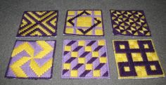 Patchwork Coasters by Berwickbay on Etsy, $6.00