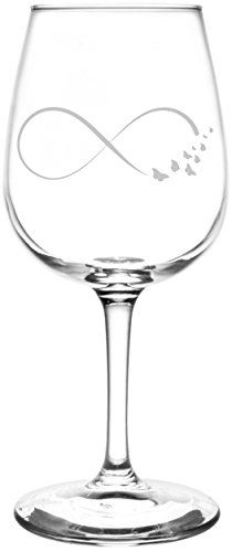 Butterfly | Ribbon Style Infinity Symbol Inspired - Laser Engraved Libbey Wine Glass. Full Personalization available! Fast Free Shipping & 100% Satisfaction Guaranteed. The Perfect Gift!