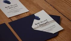 Small design workshop Konstruktywni make wedding invitations with humor and gently :)