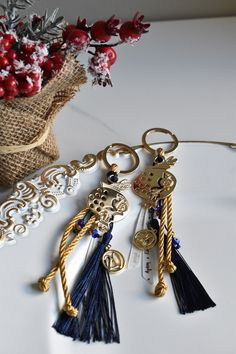 Diy Crafts, Charmed, Drop Earrings, Personalized Items, Bracelets, Jewelry, Key Fobs, Jewlery, Jewerly