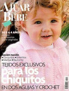 Archivo de álbumes Vogue Knitting, Knitting Books, Crochet Books, Knitting For Kids, Crochet For Kids, Baby Poncho, Baby Cardigan Knitting Pattern, Knitting Magazine, Crochet Magazine
