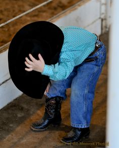 "Little Cowboy Kormos getting it all ""Just Right"""