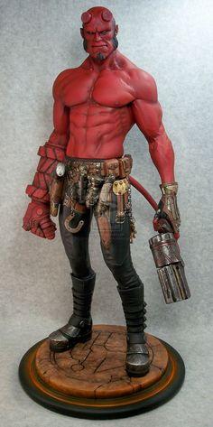 Miniaturas e Colecionismo - Hellboy