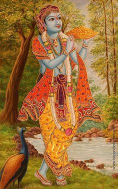 garden of the far east — Sakha 02 Madhumangala  ISKCON desire tree