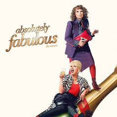 Last night I went to a preview screening of the new Absolutely Fabulous movie. It was hilarious and brought back so many memories from when my friends and I used to watch Patsy and Eddie religiously! If you're an Ab Fab fan like me make sure to go see it when it hits cinemas this Friday. Cheers thanks a lot.  #AbFabmovie #abfab #absolutelyfabulous #comedy #patsystone #edinamonsoon #sweetiedarling