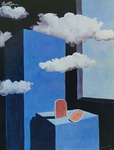 The Poetic World, 1939 by Rene Magritte #magritte #paintings #art