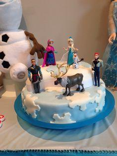 Frozen cake Frozen Cake, Cakes, Pastries, Torte, Cookies, Animal Print Cakes, Layer Cakes, Cake