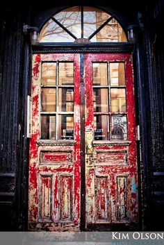 Beautiful Weathered Doors - New York, New York