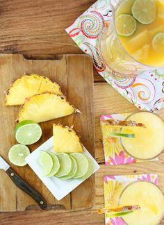 Pineapple Margaritas!