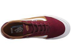 f4c80cf7385757 Vans Style 112 Pro Men s Skate Shoes Burgundy Medal Bronze Mens Skate  Shoes