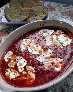 Goat cheese Marinara and Baked Brie Bites