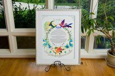 Beautiful for a #JewishWedding bird theme http://www.themodernjewishwedding.com/backyard-modern-jewish-wedding-from-brian-morrison-photography/