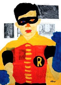 "Saatchi Art Artist Neal Turner; Painting, ""Robin"" #art"