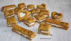 Cuketovo-syrové koláčiky s Lučinou