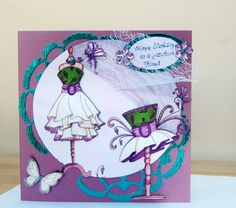Katy sue fabulous friend card on ebay