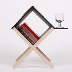 "Buchtisch Table by Dietrich Voigt  This defines ""Functional Aesthetics"""