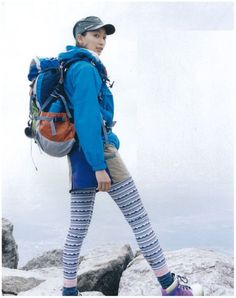 YAMA Girl Outdoor Wear, Outdoor Outfit, Japan Fashion, Girl Fashion, Hiking Dress, Mountain Wear, Mountain Fashion, Adventure Outfit, Hiking Fashion
