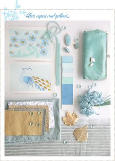 A creative Mint: mood board