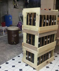 A Trio of Beer Crates
