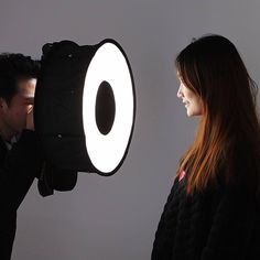 Foldable Ring Speedlite Flash Diffuser Macro Shoot Round Softbox for Canon Nikon #UnbrandedGeneric